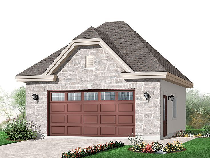Pin on 2Car Garage Plans