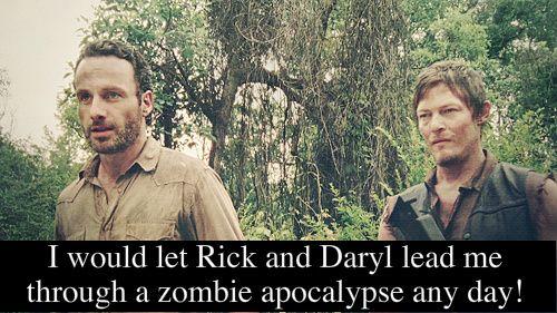 Rick Grimes & Daryl Dixon, The Walking Dead