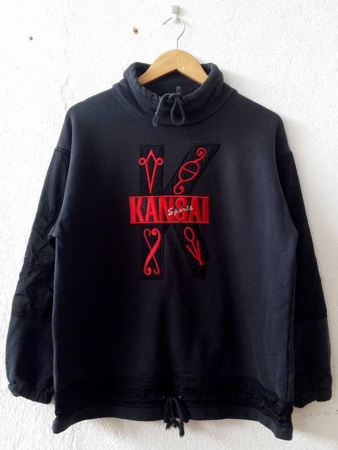 RARE!! Kansai Sports Tshirt Size LL oDprMf9PY0