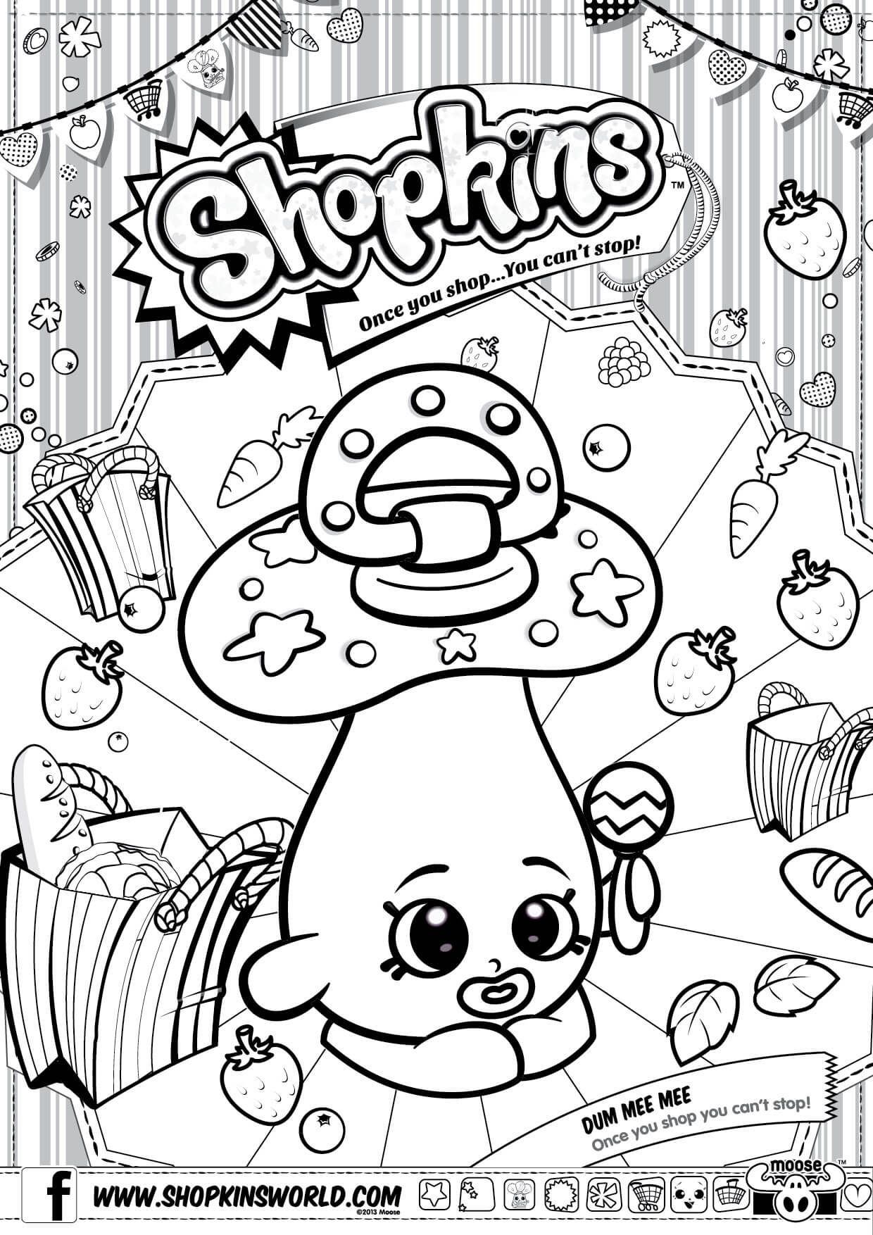 Shopkins coloring pages season 3 - Shopkins Coloring Page Shopkins Seasonprintable