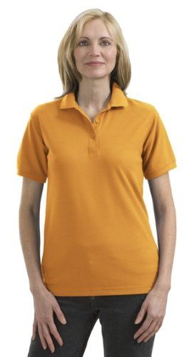Port Authority Ladies Silk Touch Sport Shirt (L500) Available in 32 Colors