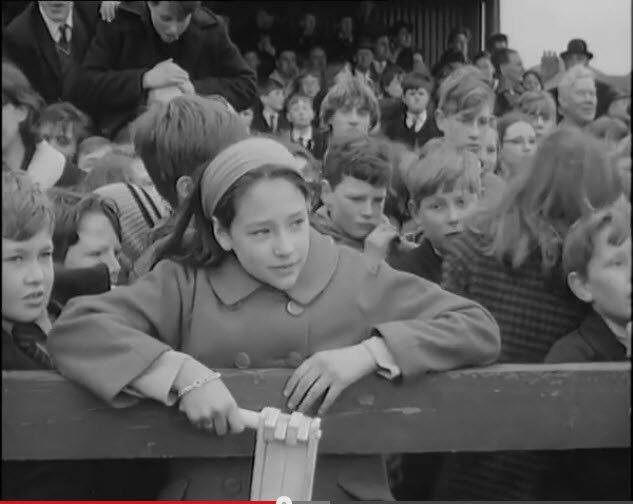 Olivia Hussey In 1965 Childrens Film Foundation Cup Fever CFFs Were Popular With British Kids At Saturday Morning Pictures CFF