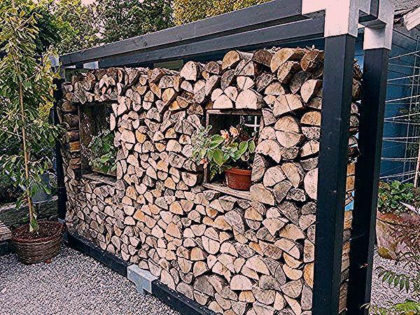 Photo of Trennwand im Garten aus Holz – My Blog