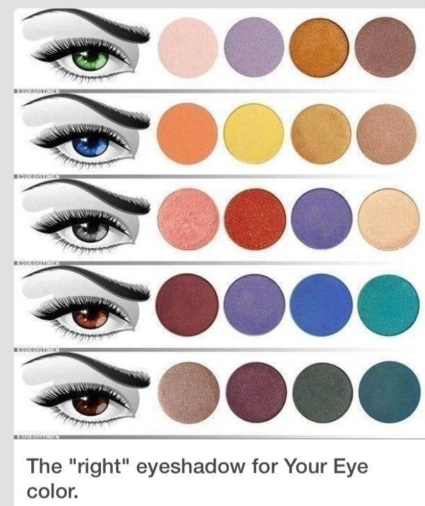 Image result for choosing the right eyeshadow for your eye color