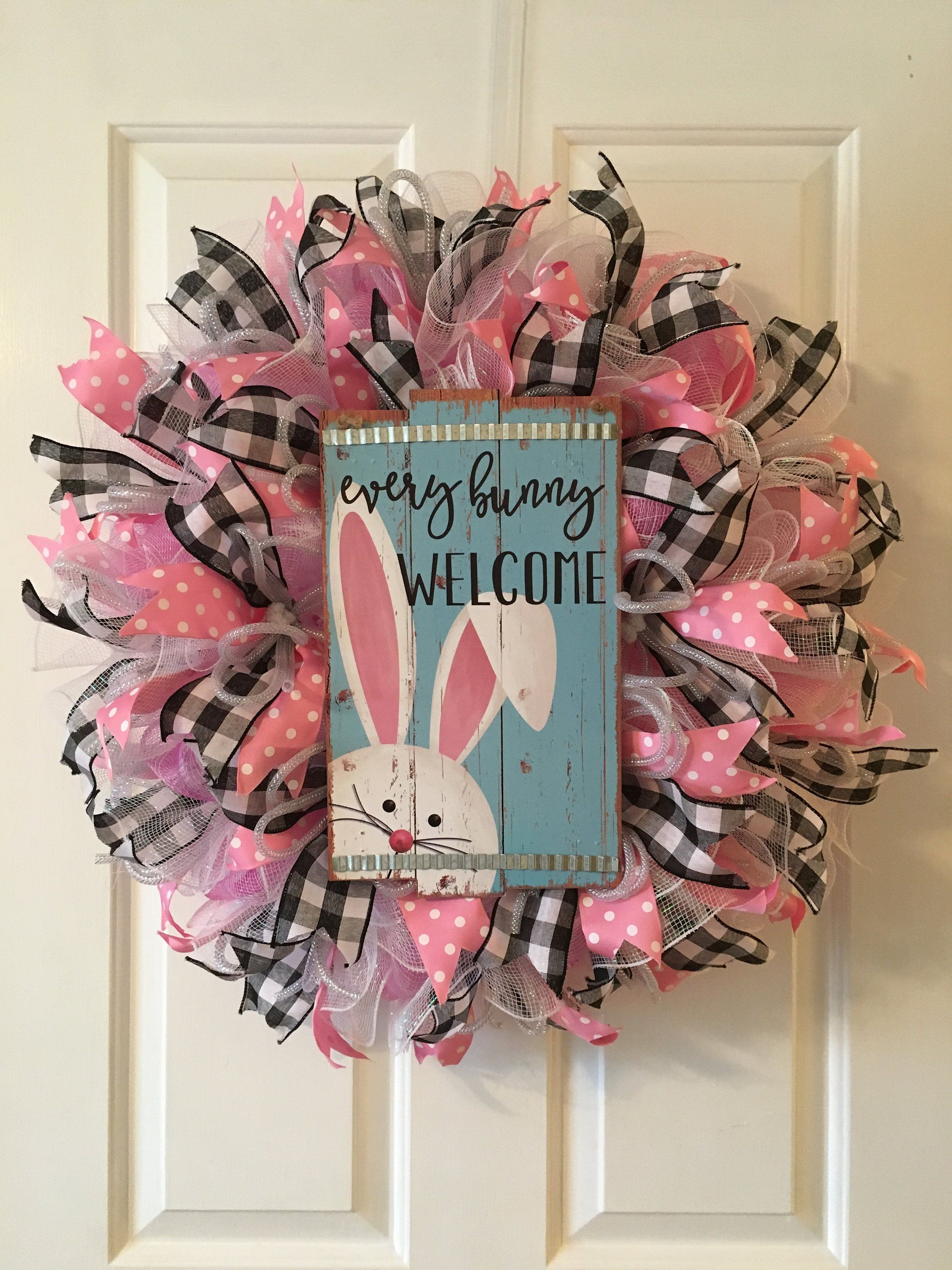 Photo of Easter Bunny Wreath