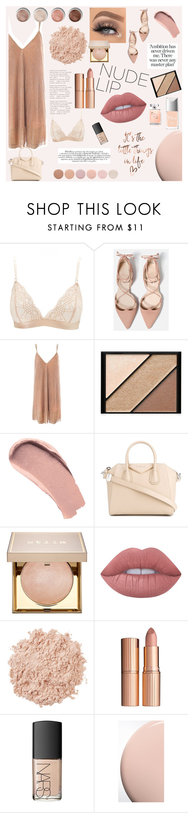 """The Perfect NUDE LIP contest"" by whenfashionhitshard ❤ liked on Polyvore featuring beauty, Charlotte Russe, Sans Souci, Elizabeth Arden, Burberry, Terre Mère, Givenchy, Stila, Lime Crime and La Mer"