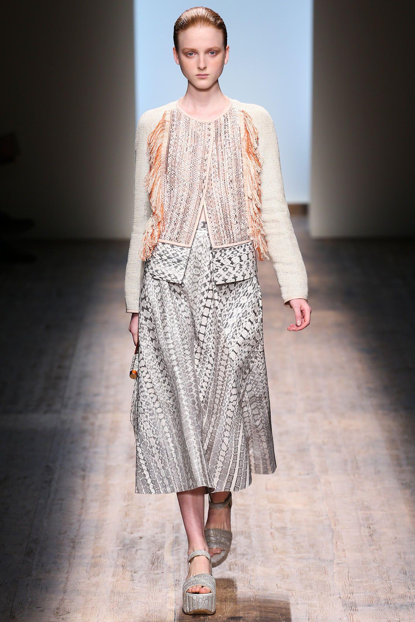 Spring 2015 Ready-to-Wear - Salvatore Ferragamo #SalvatoreFerragamo #mfw #fashionweek #model #runway #fashion