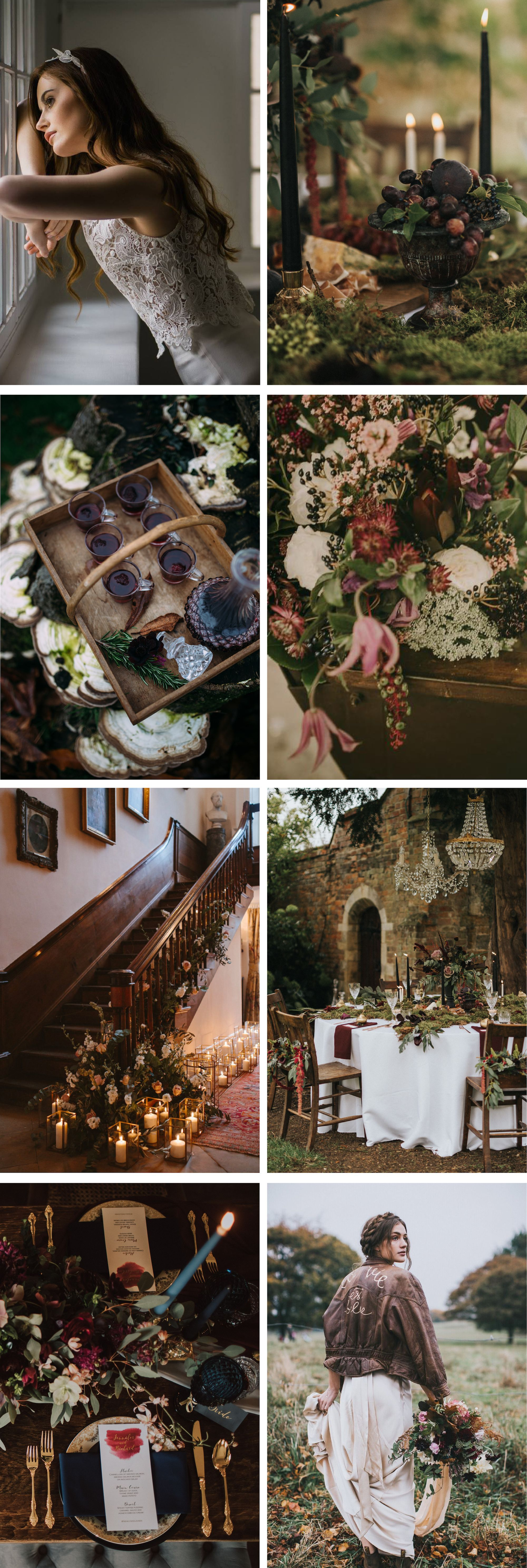 Wedding decorations themes ideas october 2018 Jewel Tone and Gold Autumn Wedding Inspiration The Love Lust List in