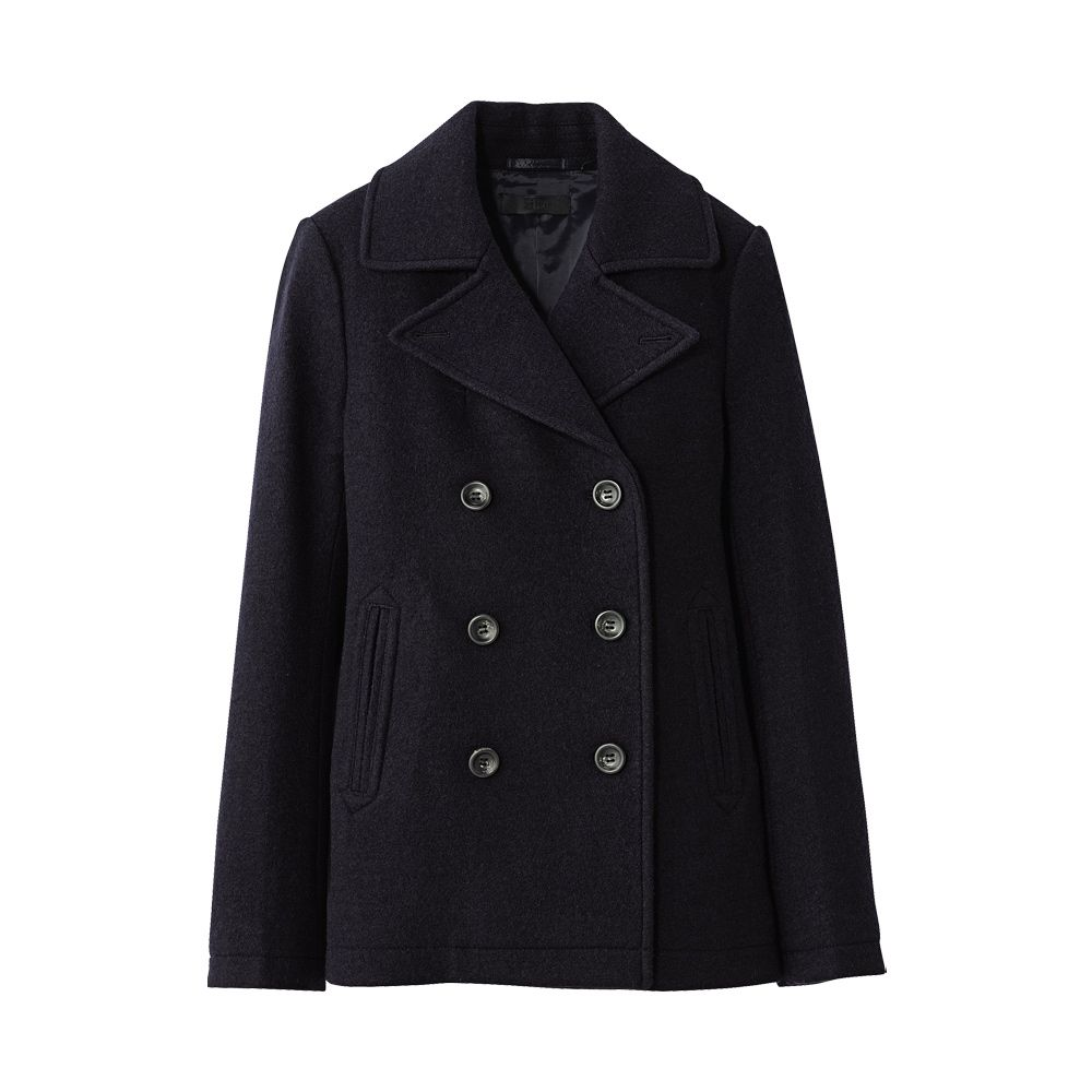 UNIQLO WOMEN WOOL PEA COAT