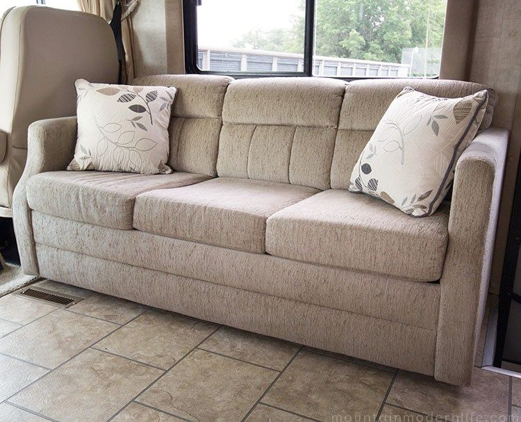 Planning To Replace The Couch In Your Motorhome Some Disembling May Be Required How