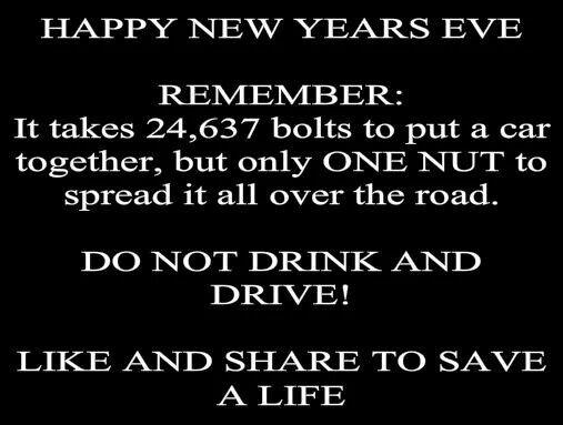 Happy New Years Eve. ..