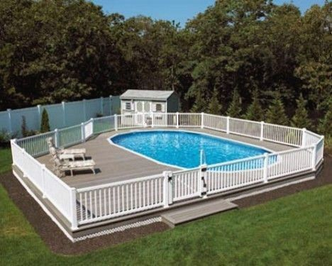99 Awful Above Ground Pools Buried #above #ground #pools #
