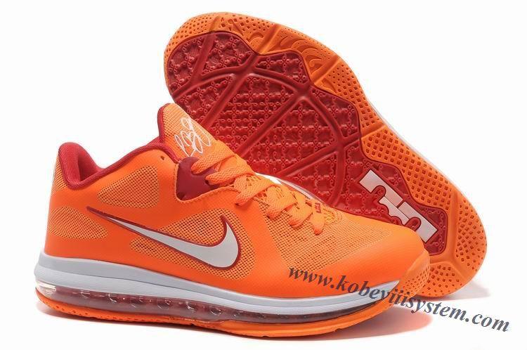 f7b1aa52f0c Nike Lebron 9s Low Floridians Vivid Orange Cherry 510811 800 ...