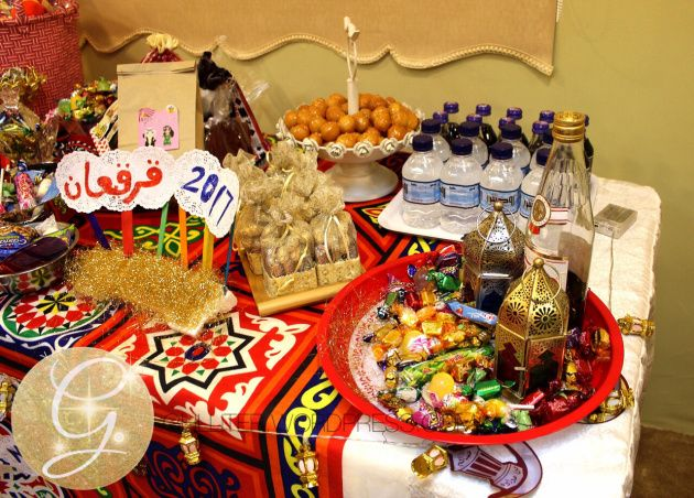 رمضان ١٤٣٨ حفلة قرقيعان و تنسيقات زينة اصنعيها بنفسك Sweets Bar Party Sweets Sweets