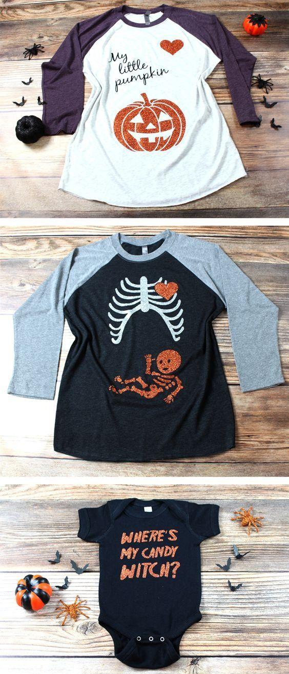 de33248a5 Halloween Pregnancy Announcement, Halloween Costumes, Pregnancy, Funny  T-Shirts