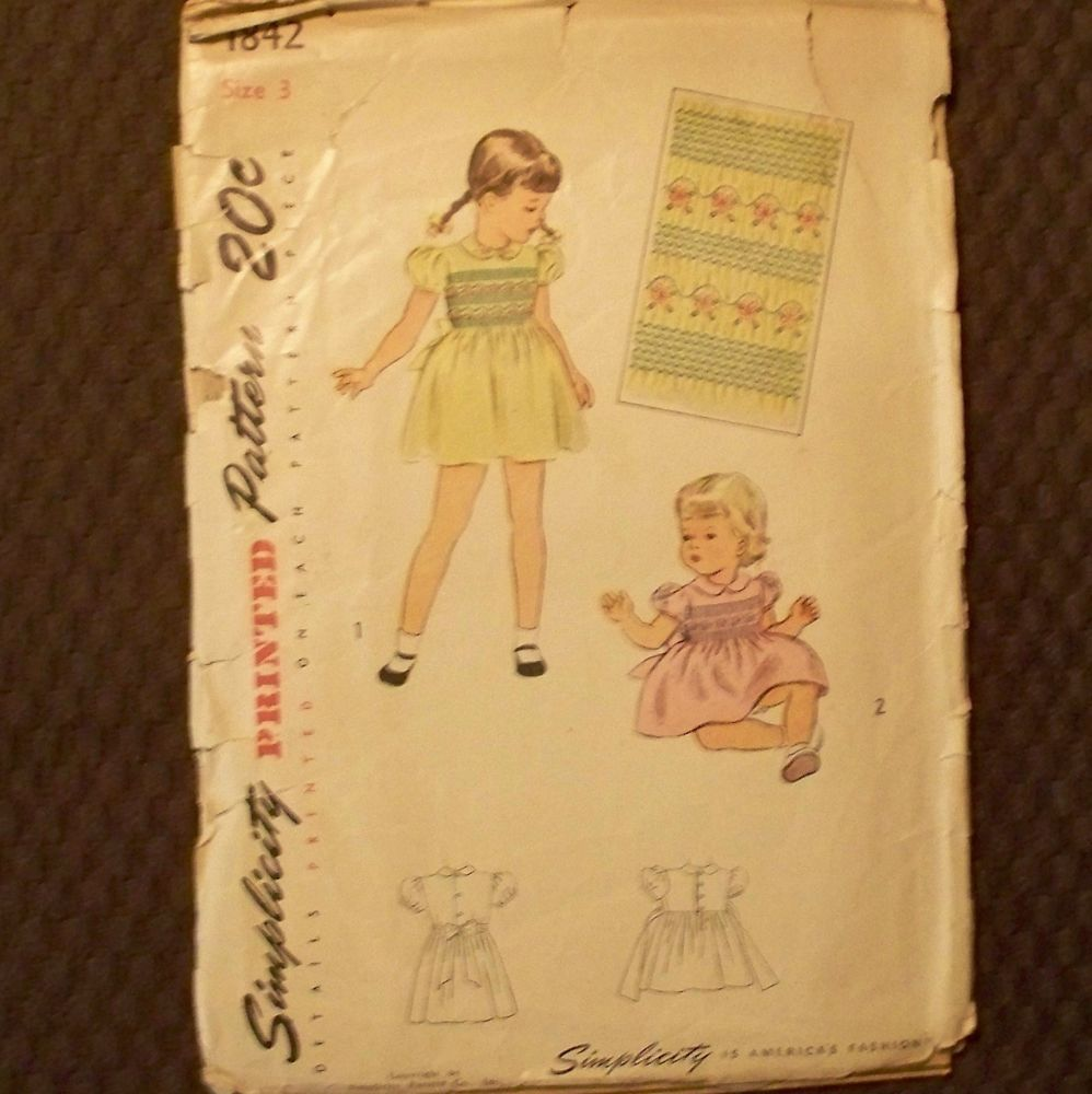 US $3.99 Used in Collectibles, Sewing (1930-Now), Patterns