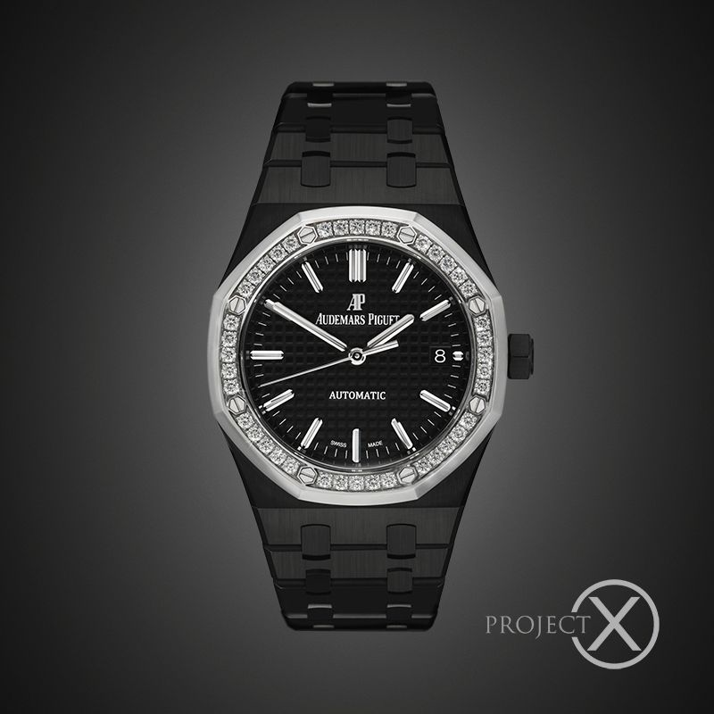 BLACK-OUT AUDEMARS PIGUET ROYAL OAK OFFSHORE LADIES SW DIAMONDS by PROJECT X