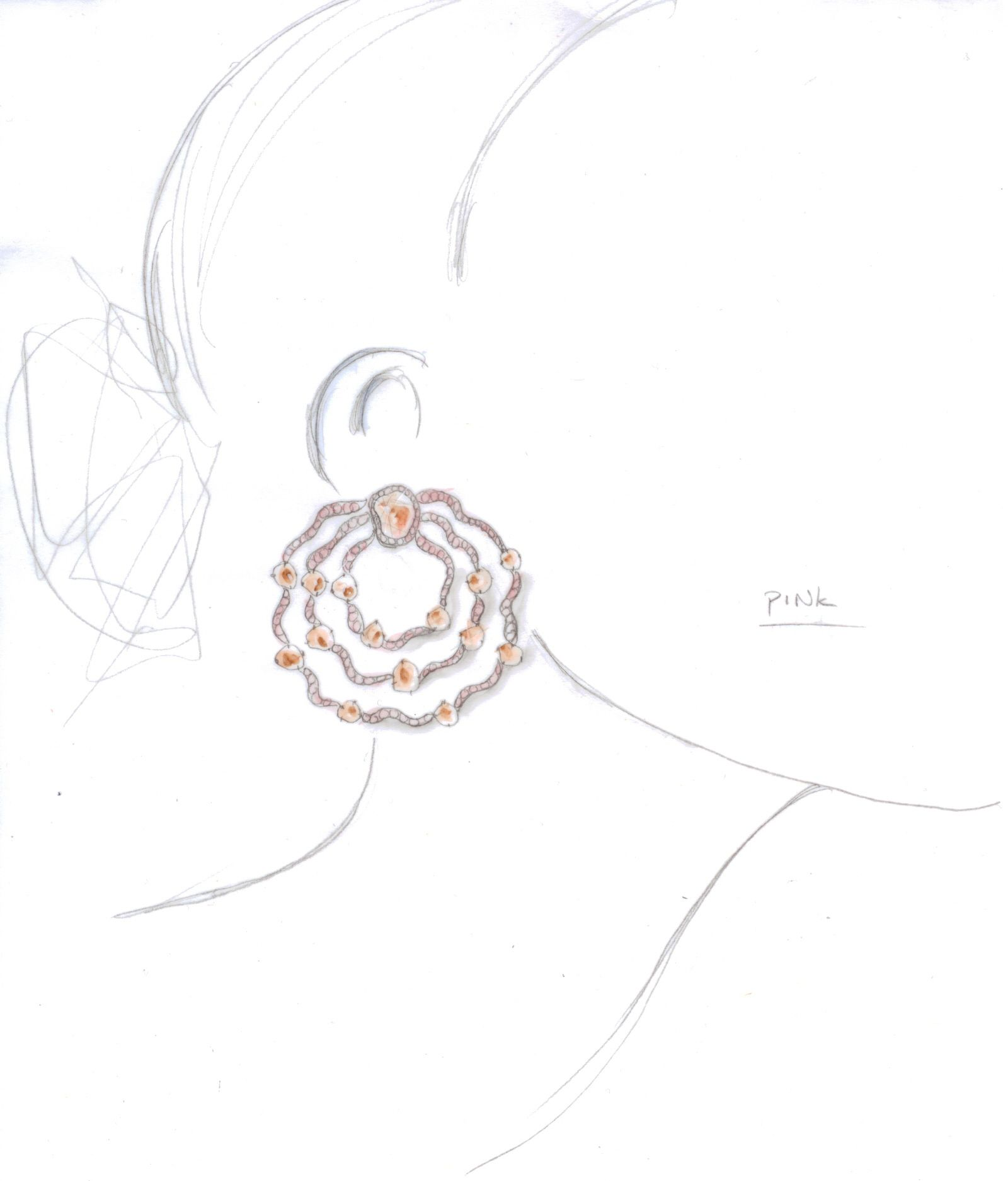 design jewelry illustration fashion ditr jewelry