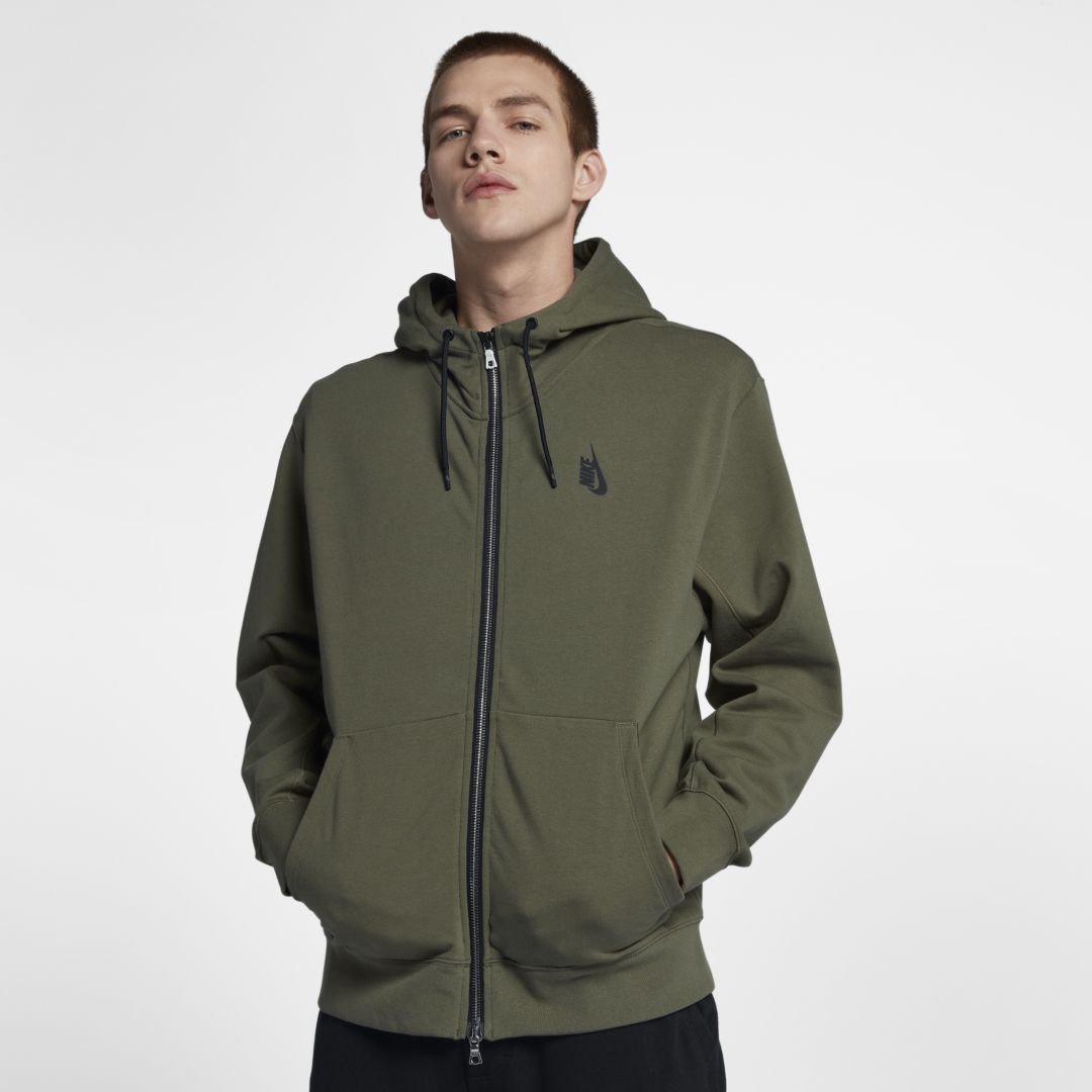 4a5dd24c768e NikeLab Collection Men s Full-Zip Hoodie Size L (Medium Olive ...