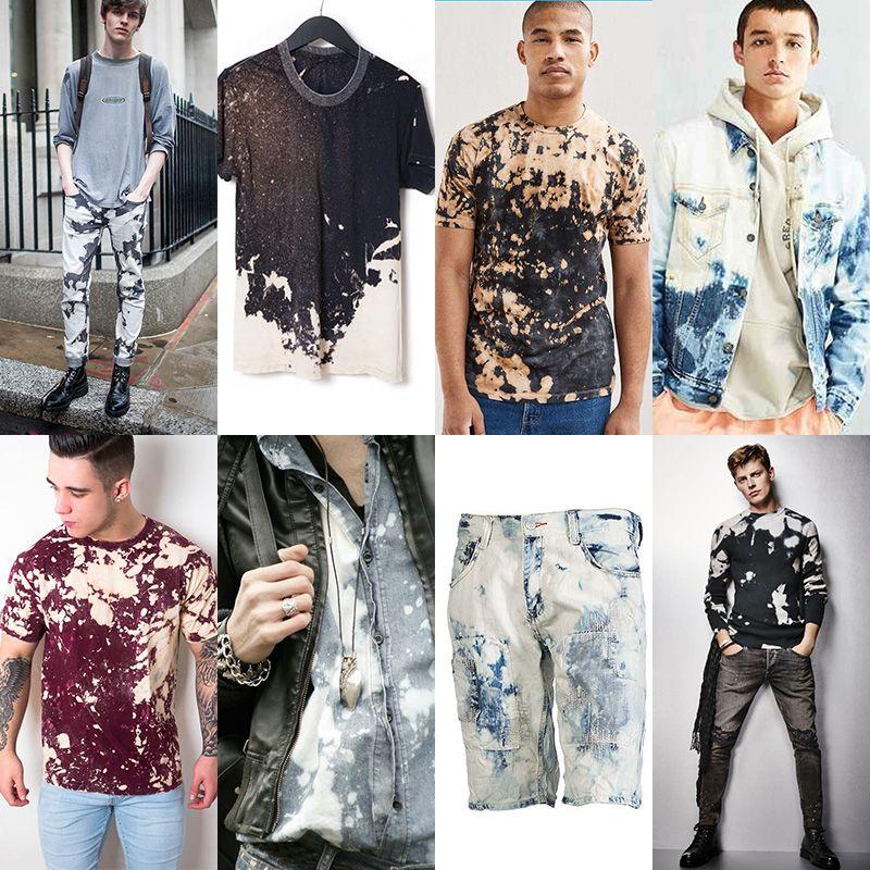 Men's Bleached Fashion