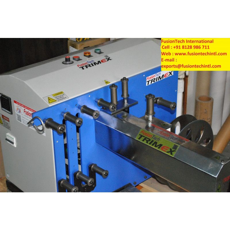 Exporter Of Trim Winding Machine In Madurai Indiafusiontech International Is One Of The Leading Manufacturer Supplier And Exporter Of In 2020 Plastic Trim Trim Winder