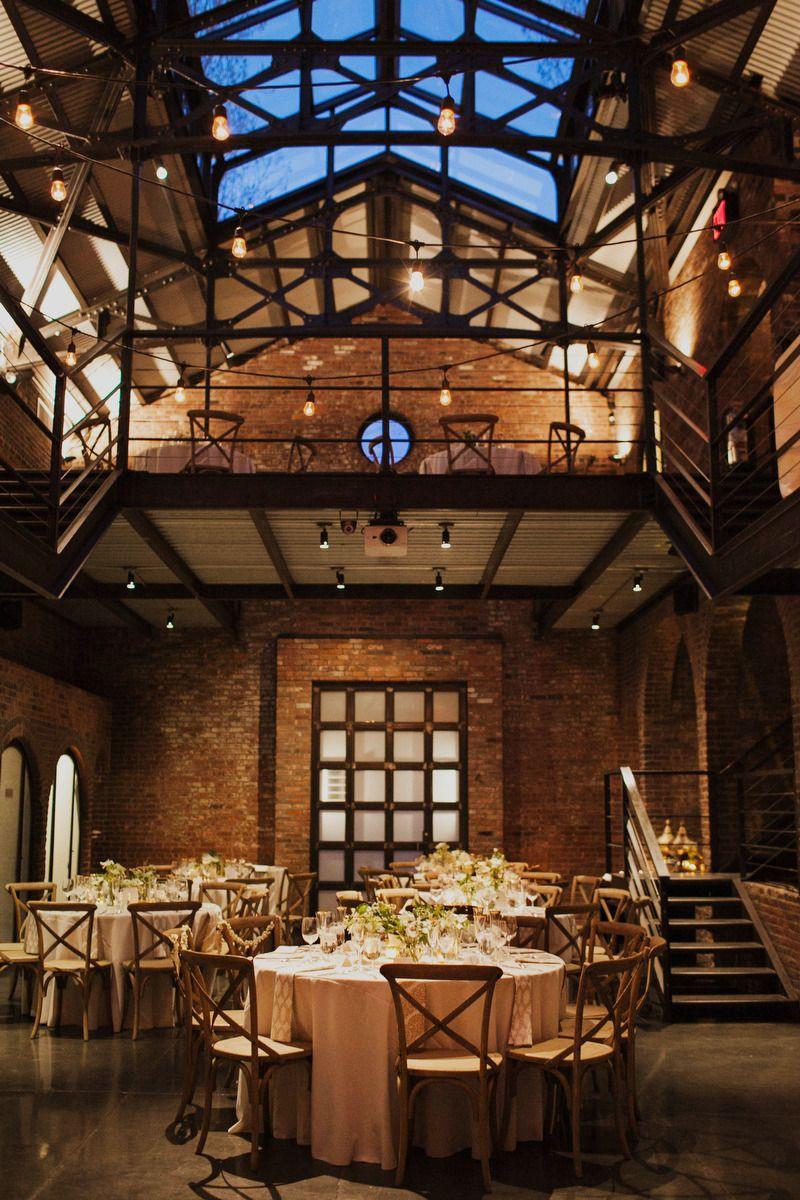 Long Island City Wedding From Christina Szczupak Industrial Wedding Venues Long Island City Wedding Calgary Wedding Venues