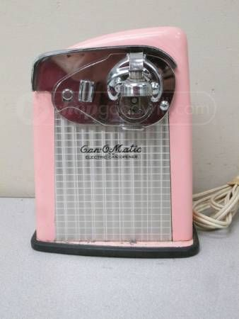 Gotta Have It Vintage Pink Can O Matic Electric Opener
