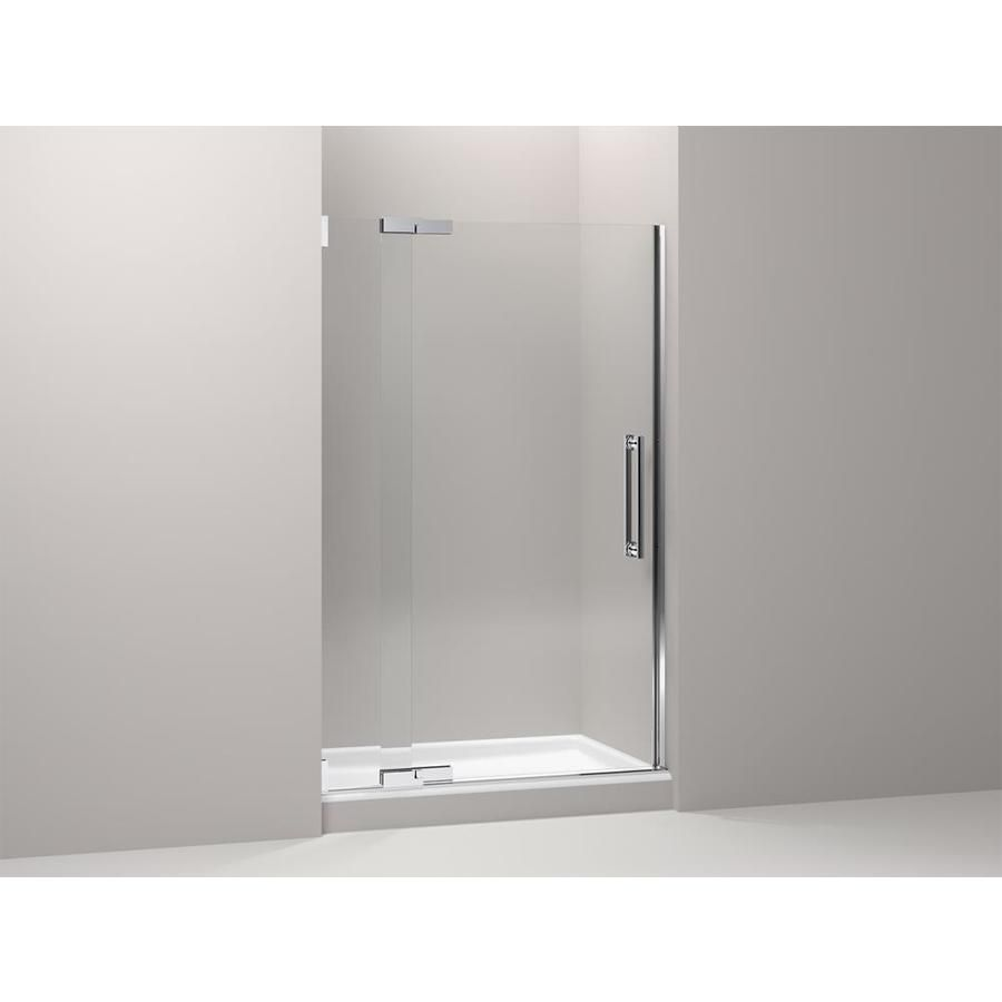Kohler Purist 33 75 In To 47 75 In W Frameless Pivot Bright