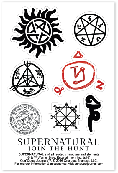 Supernatural Inspired Anti Possession Tattoo Colored In Might Want The Colors A Little Brighte Supernatural Tattoo Anti Possession Tattoo Supernatural Symbols