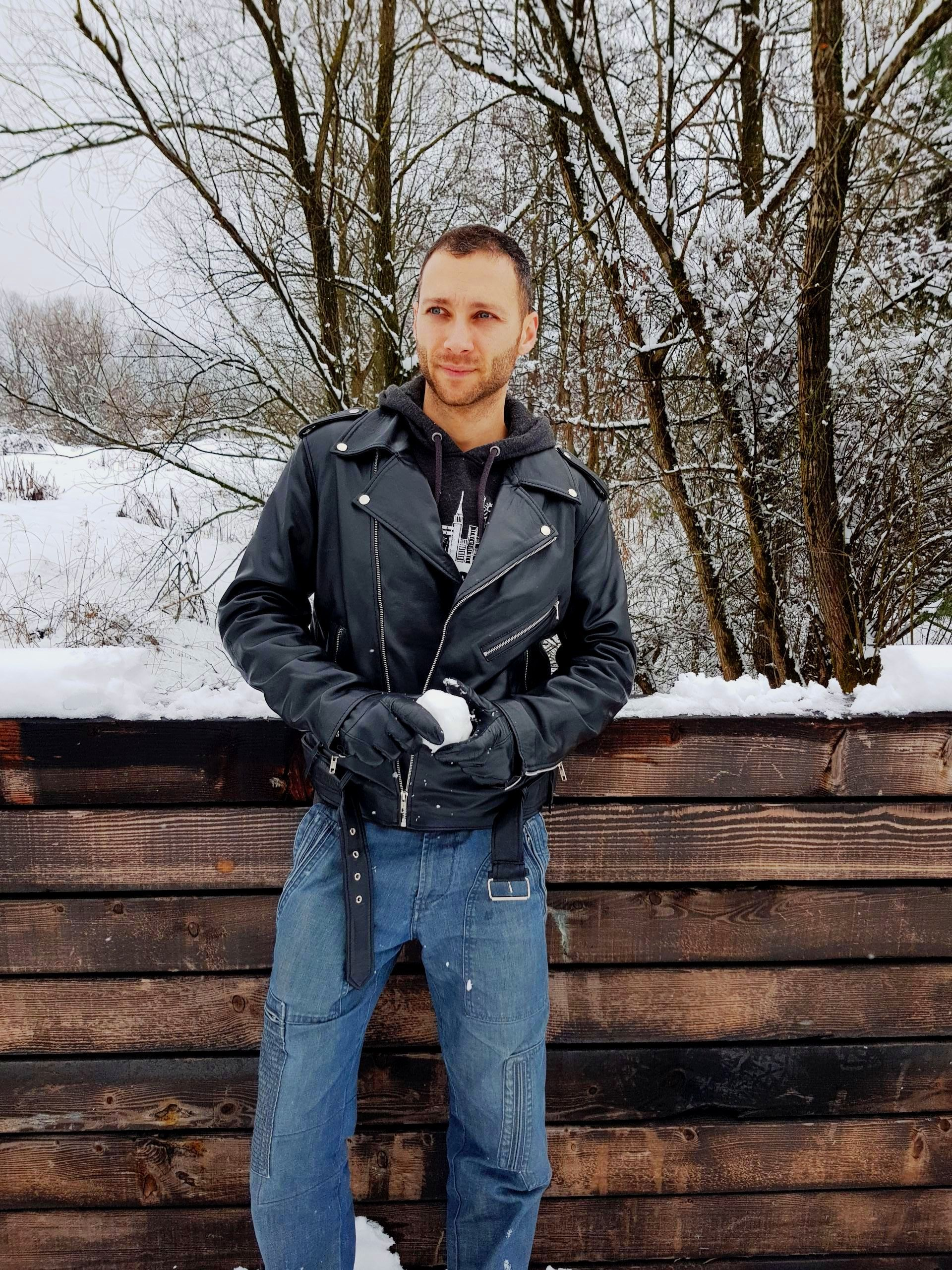Schott N Y C 618 Classic Perfecto Steerhide Leather Motorcycle