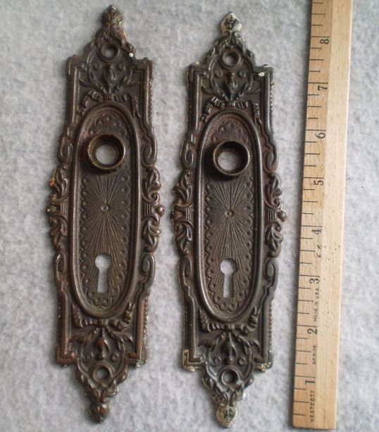 Antique Victorian Door Plates · Victorian DoorHardware