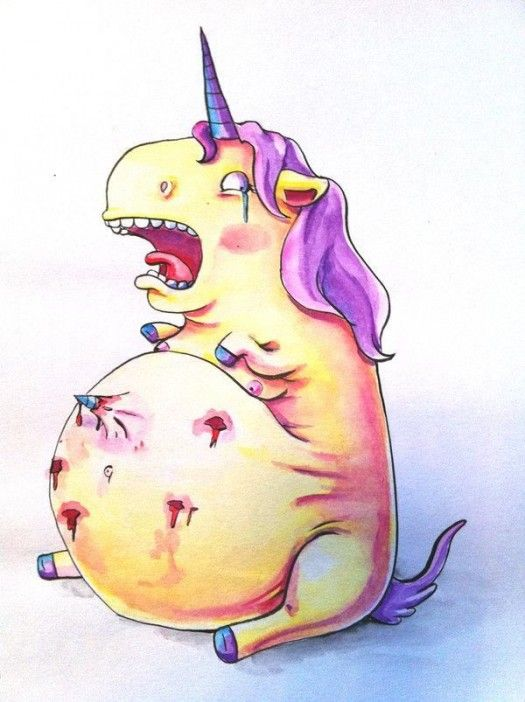 Why unicorns shouldn't get pregnant....