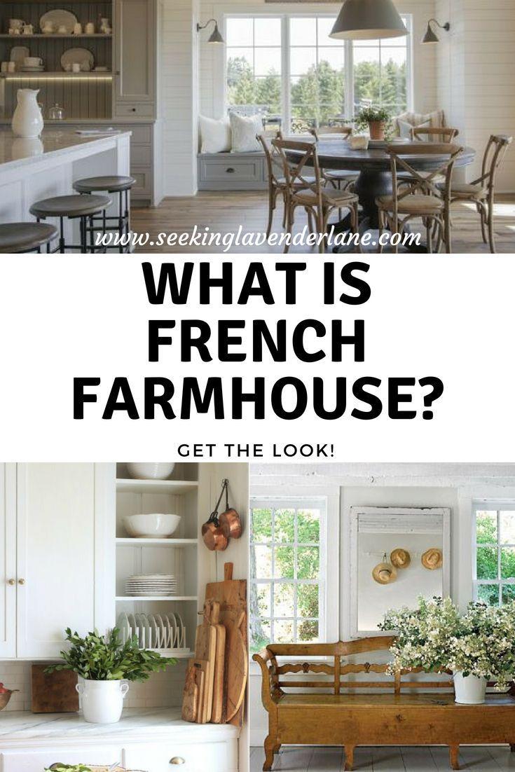 French Farmhouse - Seeking Lavender Lane