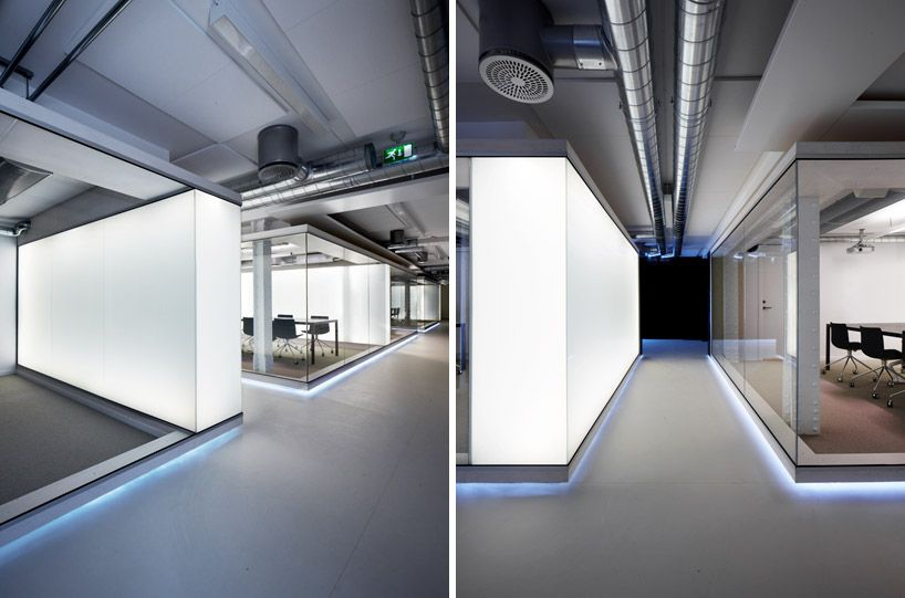 Eriksen skajaa architects: netlife research office workplace