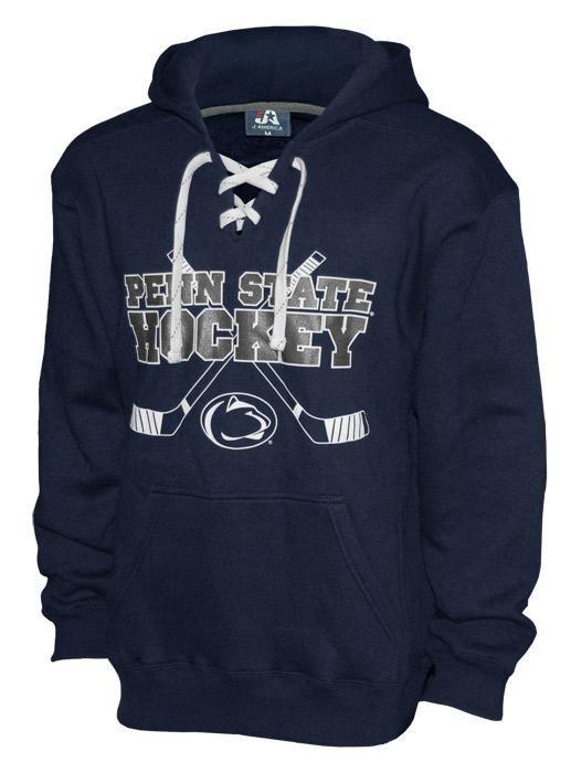 best service 89498 c420e Penn State Laced Ice Hockey Hood | Sweatshirts > HOODIES ...