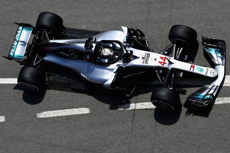 Mercedes W09, Lewis Hamilton 2018