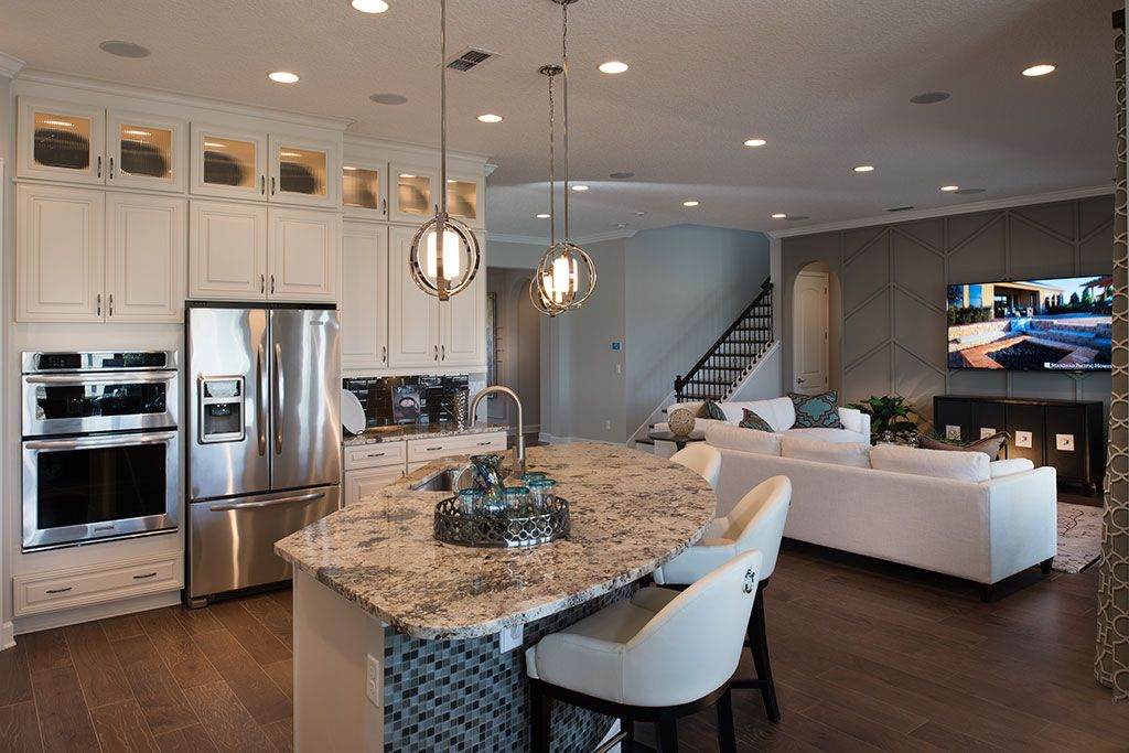 the hamilton kitchen by standard pacific homes in greenleaf lakes at nocatee - Hamilton Kitchen