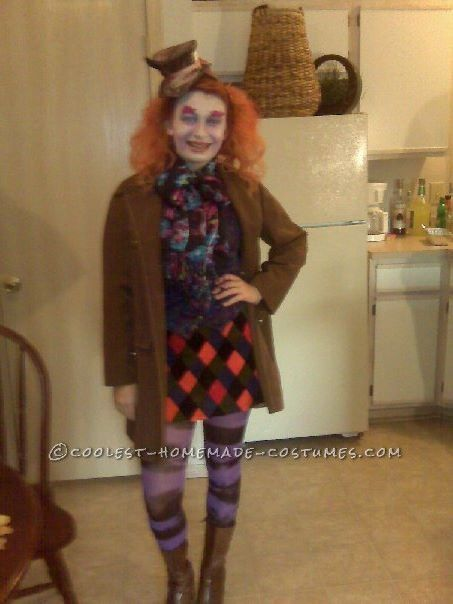 Homemade mad hatter costume for a girl mad hatter costumes mad homemade mad hatter costume for a girl this website is the pinterest of solutioingenieria Images
