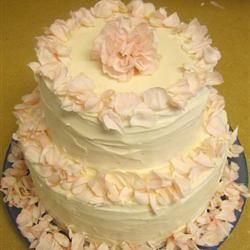 white wedding cake frosting allrecipes wedding cake frosting buttercream http allrecipes 27350