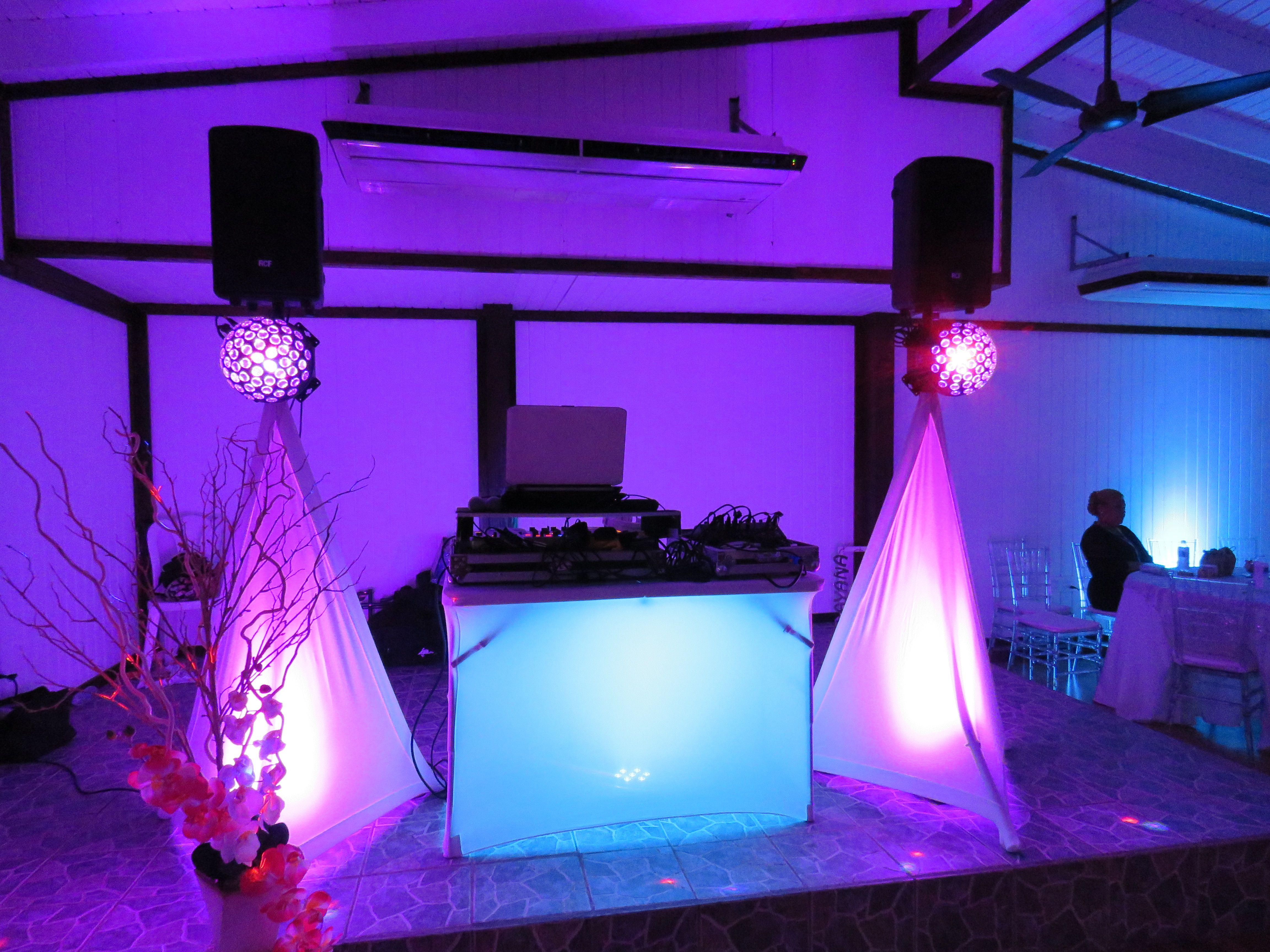 Small Wedding Dj Setup JaySe7enEvents DJ Small Setup In