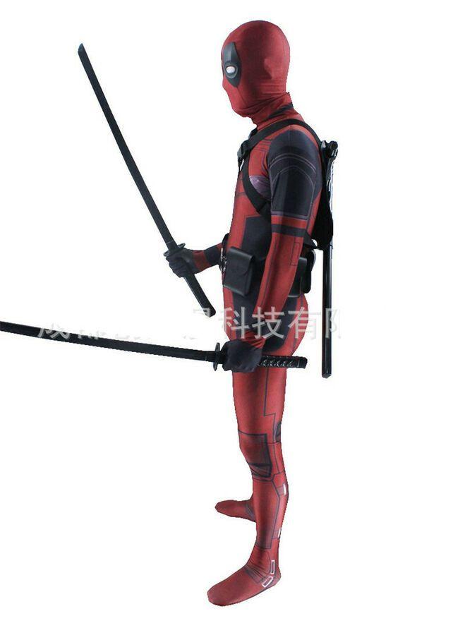 NEW Lady Deadpool Pink Cosplay Costume Zentai Bodysuit Suit Jumpsuits