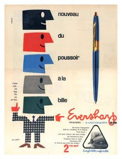 My Vintage Avenue 50s And 60s Illustrations French