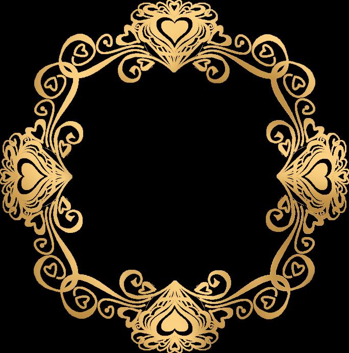 Valentinegoldframe Png 684 691 Monograma Casamento Brasao