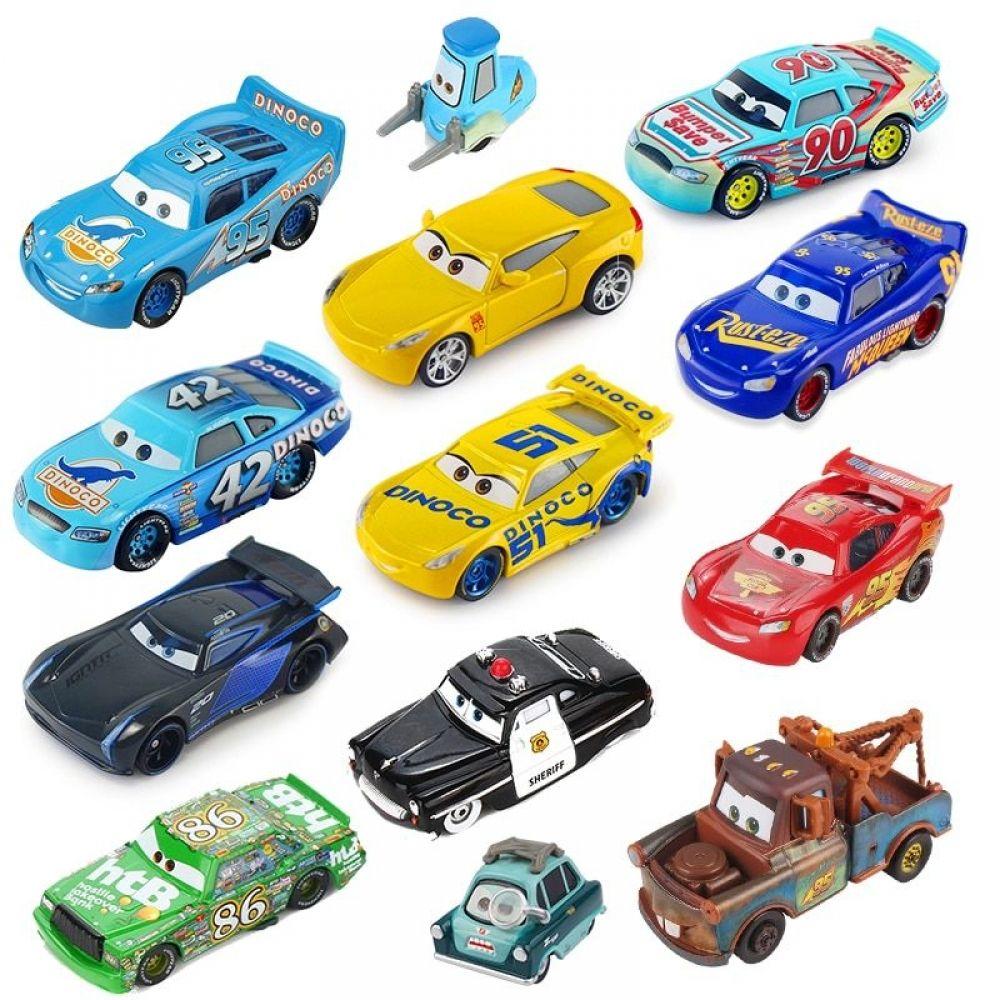 Heavy Metal Bliksem McQueen Disney Pixar Cars Mattel