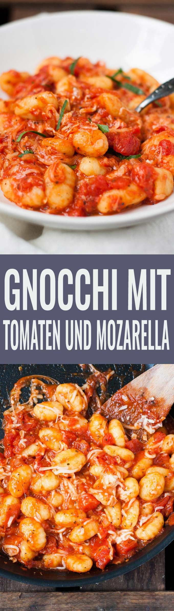 Photo of 15-minute gnocchi with tomato sauce and mozzarella cooking carousel