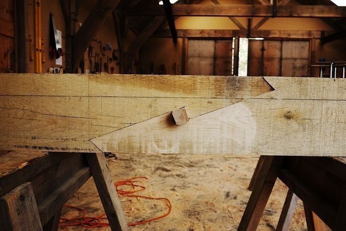 Scarf Joint Timberframe Oak Frame House Wood Joinery
