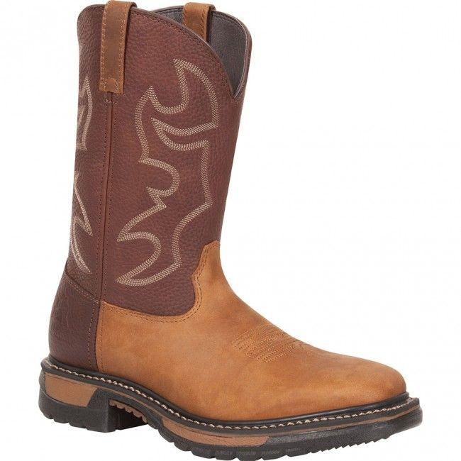 RKYW040 Rocky Men\'s Original Ride Western Boots - Saffron Brown www ...