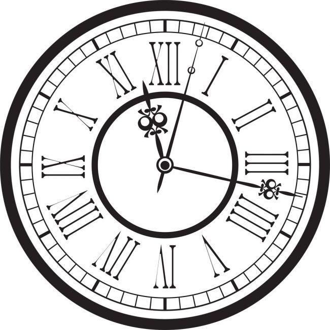 Afbeeldingsresultaat voor antique clock vector