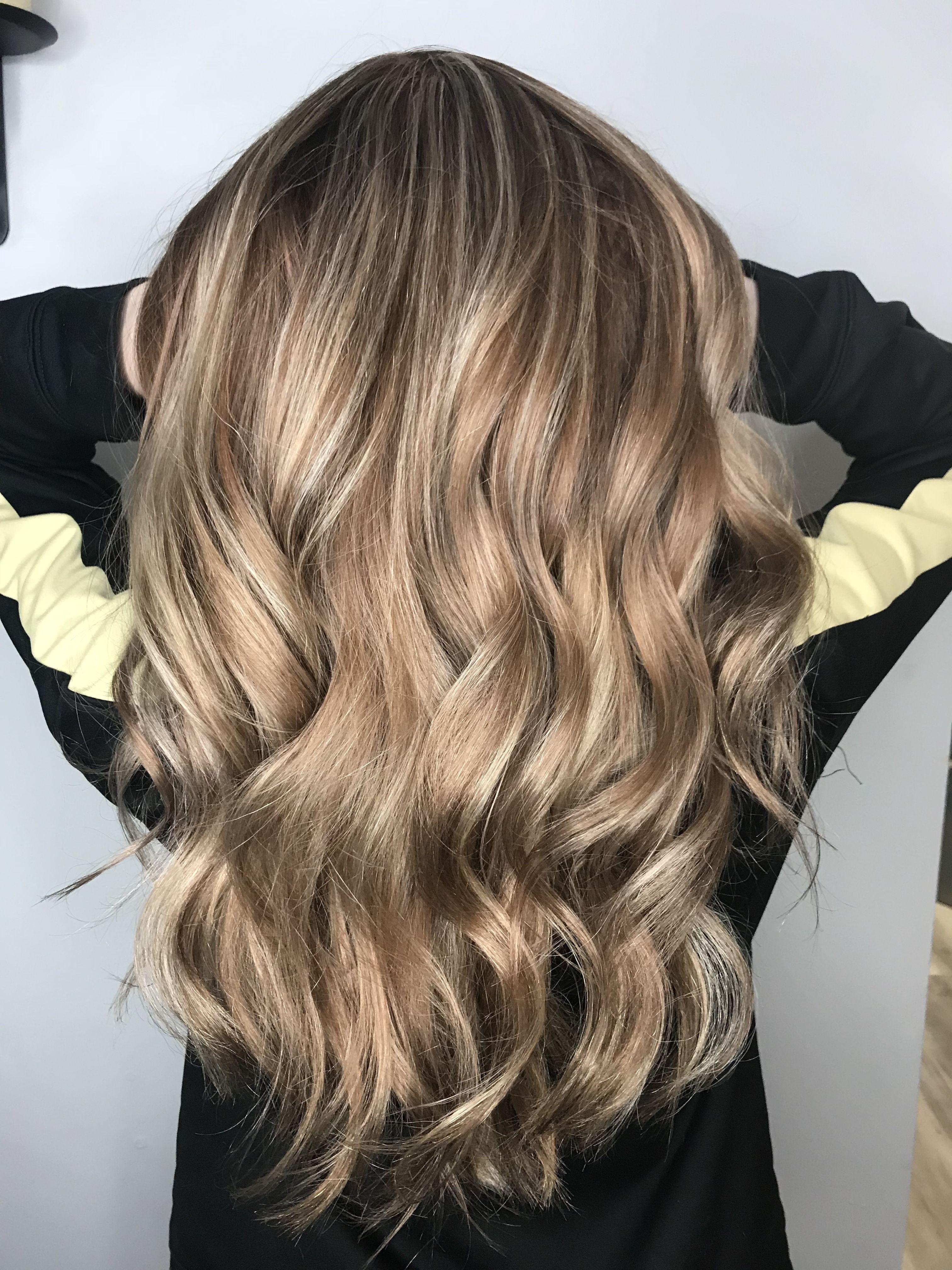 Strawberry Metallic Blonde Balayage Hair Balayage Highlights