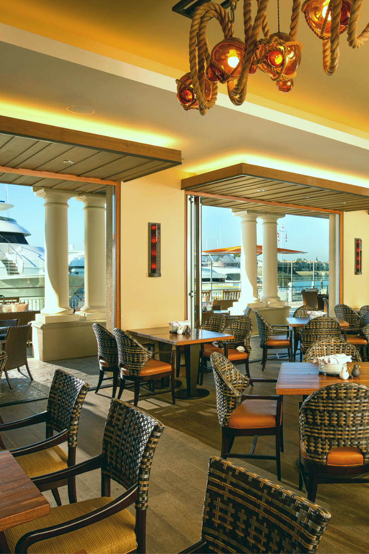 Waterfront Dining With Gorgeous Harbor Views Awaits Groups